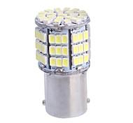 GC®  1156 / BA15S 7.5W 500LM 85x3020 SMD White LED for Car Turn Steering Light / Brake Light Lamp (DC12V)