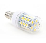 4W E14 LED a pannocchia T 30 SMD 5050 450 lm Bianco caldo AC 220-240 V