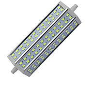 R7S 15W 72 SMD 5730 1450-1500 LM Warm White / Cool White T Dimmable LED Corn Lights AC 85-265 V