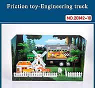 Hight auto giocattolo di qualità per i bambini del camion attrito impostato con strumenti il tema farm 20142-10