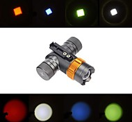 Zoomable CREE XML-T6 LED Headlamp Headlight 2000LM 3-Mode 18650 Bike Bicycle Light with Clamp