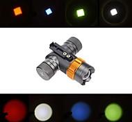 stradale cree xml-T6 LED faro 2000LM 3-mode luce bicicletta 18650 bici con morsetto