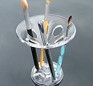 Acrylic Made Transparent Makeup Brush Pot Display Stand Cosmetic Organizer