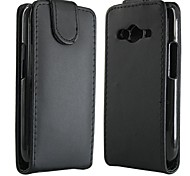 Open Up and Down PU Leather Full Body Protective Case for Samsung Galaxy Ace 4 G313H