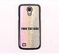 персонализированные телефон случае - три цвета капли металлического корпуса конструкции воды для Samsung Galaxy S4