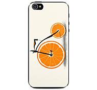 лимон высотой велосипед шаблон жесткий футляр для iPhone 5 / 5S
