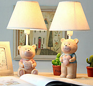 40W LED Romantic Couples Love Bear Dimming Small Table Lamp 220V(Assorted Colors)