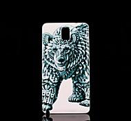 Bärenmuster Hartschalenetui für Samsung Galaxy Note 3