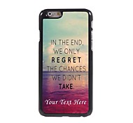 Personalized Phone Case - In The End Design Metal Case for iPhone 6