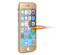 Angibabe 0.3mm 2.5D 9H Titanium Alloy Colorful Tempered Glass Screen Protector Flim for iPhone 6