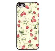 Strawberry Design Aluminium Hard Case for iPhone 4/4S