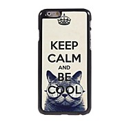 Keep Calm and Be Cool Design  Aluminum Case for iPhone 6 Plus