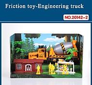 Hight auto giocattolo di qualità per i bambini del camion attrito impostato con strumenti il tema antincendio 20142-2
