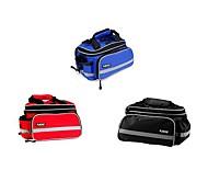 Fahrrad Kofferraum Tasche/Fahrradtasche / Fahrradtasche Wasserdicht / Reflexstreifen / tragbar / Multifunktions Radsport NylonRot /