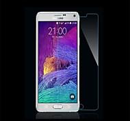 hd ultra delgado claro a prueba de explosión de vidrio templado cubierta protectora de pantalla para Samsung Galaxy Note 4