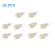 10 pcs G4 3 W 6 SMD 5730 220 LM Warm White/Cool White Spot Lights AC 12 V