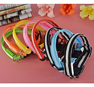 2.5cm Width Double Stripe Led Lights Collar for Dogs and Pets (assorted colors,size)