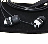 3.5mm Classic Wired Clear Bass In-Ear Earphone with Microphone for Samsung+More Equipment