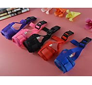 Nylon Material Muzzle for Dogs and Pets (Assorted colors,Sizes)