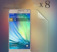 [8-Pack] High Transparency LCD Crystal Clear Screen Protector with Cleaning Cloth for Samsung galaxy A7