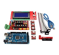 3D Printer Controller RAMPS 1.4 + Mega2560 R3 + 5 x A4988 + 2004LCD Controller Board for 3D Printer