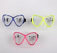 aloma buceo máscara de snorkel para adultos lente de cristal templado de doble am-200