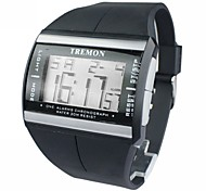 Men's Watch Sports Multi-Function LCD Digital Calendar Wrist Watch Cool Watch Unique Watch