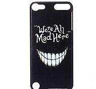 Teeth Pattern PC Hard Back Cover Case for iTouch 5