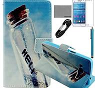 Galaxy Grand Prime G530 compatible Accesorios Liar Funda/Carcasa/Protector de Pantalla/Cable USB/Lápiz Táctil
