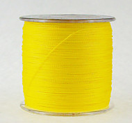 500M / 550 Yards PE Braided Line / Dyneema / Superline Fishing Line Yellow 100LB / 80LB / 70LB / 60LB / 45LB / 40LB / 50LB