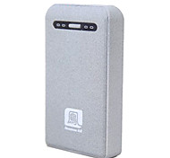 Newmine A100 10000mAh Frosted External Battery for iphone6/6plus/5S Samsung S4/5 HTC and other Mobile Devices