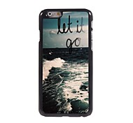 Let It Go Design Aluminiumkasten für iphone 6 Plus