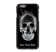 Personalized Phone Case - The Skull Design Metal Case for iPhone 6