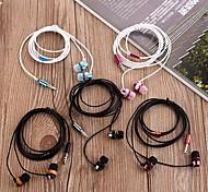 Ecouteurs ( Microphone ) Cablé - Pomme Dans l'oreille