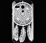 Folk Style Painting Hard Back Cover Case for Motorola Moto G