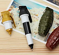 Grenade Blue Ink Ballpoint Pen(Random Color)