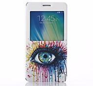 Samsung Handy - Samsung Galaxy A7 - Hüllen (Full Body) - Spezielles Design ( Multi-color , Plastik/PU Leder )