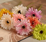 "12.2""L Set of 1 Romantic Daisies Silk Cloth Flowers"
