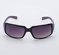 Anti-Reflective Women's Rectangle Plastic Retro Sunglasses