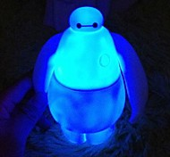 Big Hero 6 Projection Baymax Night Colorful Glowing Vinyl Action Figure