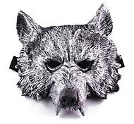 Werwolf Maske aus Plastik für Halloween-Party (1 PC)