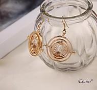 eruner® harry potter Zeitumkehrer Ohrringe des Gold 18k Horcrux Harry Potter-Fans Geschenke harry potter Ohrringe