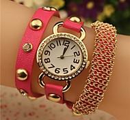 - Analog - Schmetterling - Armband-Uhr