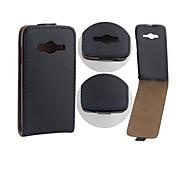 Samsung Handy - Samsung Galaxy Ace 4 G313H - Hüllen (Full Body) - Einfarbig PU Leder )