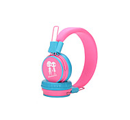 Heshishi  Candy Colors Aliens Stereo Foldable Head-mounted Wired Headset