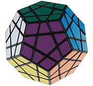 7099A 12-Color Megaminx IQ Magic Cube - Black Base