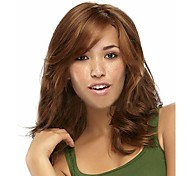 European and American Fashion New Long Hair Light Brown Hair Wig