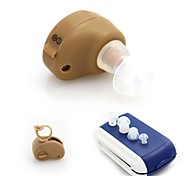 Mini tono ajustable en la oreja mejora de sonido volumen sordos asistencia oreja ayuda audífonos amplificador mejor invisible