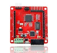 tela de matriz rgb dot geeetech cores LED escudo driver para arduino