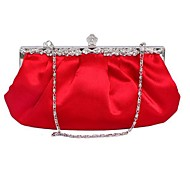 Handbag Matte Silk Evening Handbags/Clutches